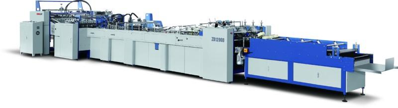 ZB 1200B Sheet-Feeding Bag Tube Forming Machine