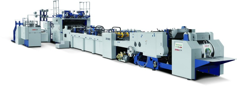ZB 1260S-450 Paper Bag Making Machine